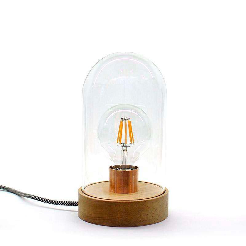 Fanal decorativo LED BELL JAR 220, 8W, regulable, Blanco cálido, Regulable